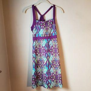 Soybu Ikat Purple Athletic Activewear Sundress M